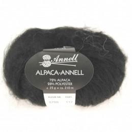Alpaca-Annell 5759 zwart