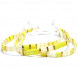 Armbandjes Tila Miyuki geel...