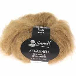 Kid-Annell 3108 donker camel