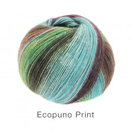 Ecopuno print 205 Lana Grossa