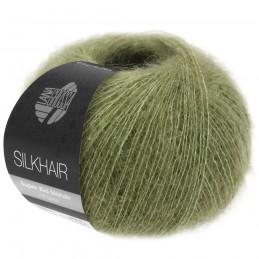 Silkhair 166 olijf Lana Grossa