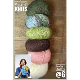 Ecopuno Colorblock Sjaal...