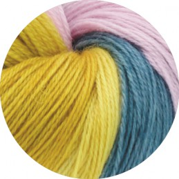 Cool Wool Lace Hand-Dyed 811 Sajra Lana Grossa