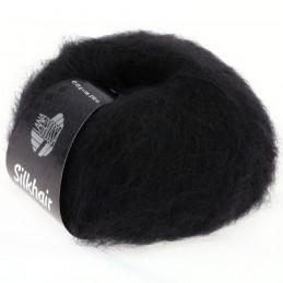 Silkhair Lana Grossa 14 zwart