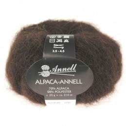 Alpaca-Annell 5701 bruin