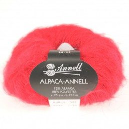 Alpaca-Annell 5712 rood
